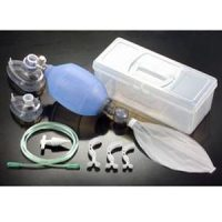 Silicon Resuscitator Bag Reusable With Carrying case and complete kit Besmed Taiwan
